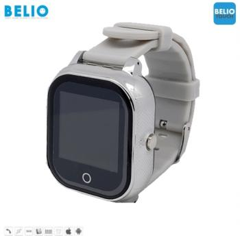 BELIO©TOUCH ZILVERLINE - GPS HORLOGE KIND