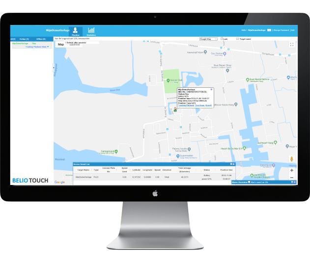 Nederlands GPS webplatform voor kinderen en ouderen